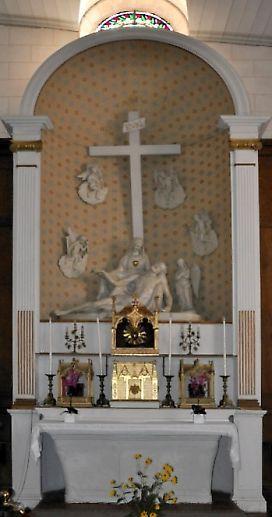 Eglise Sainte-Catherine  à la Flotte-en-Ré, autel du Sacré Coeur