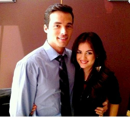 """∞ on Twitter: """"Ian Harding and Lucy Hale need to start dating ..."""