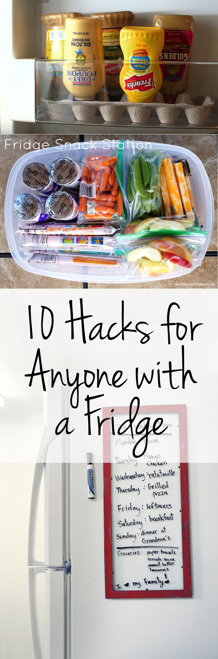 10 Hacks For Anyone With A Fridge