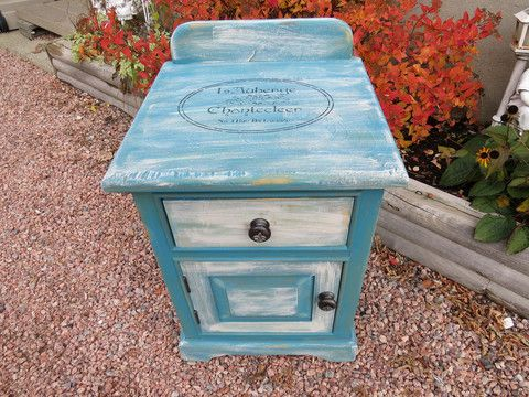 WASH STAND STYLE NIGHT TABLE – Kimber Creations