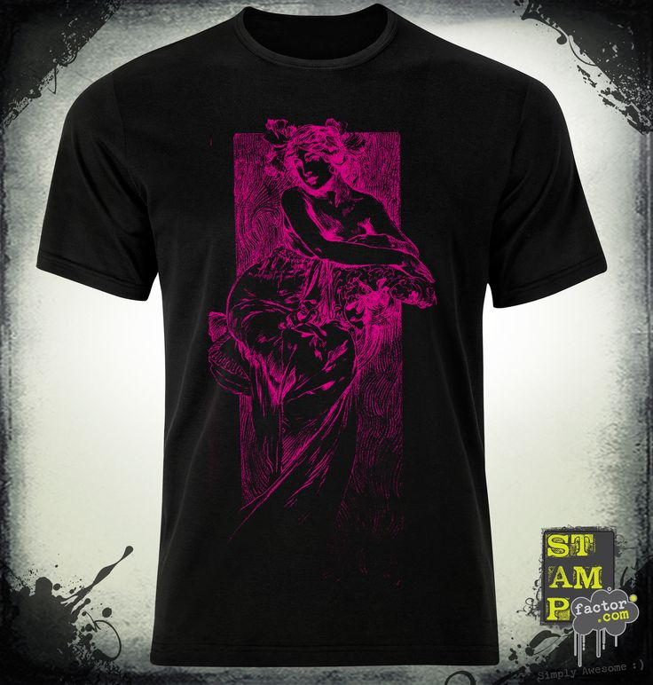 Nymph (Pure Magenta) 2014 Collection - © stampfactor.com *T-SHIRT PREVIEW*