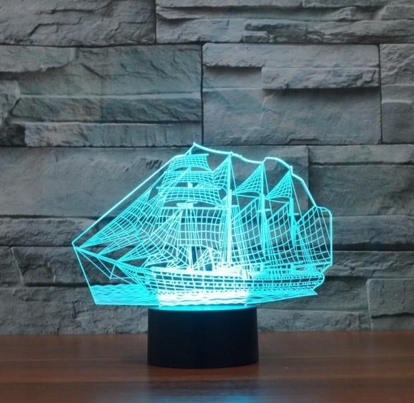Jual Lampu LED 3 Dimensi Berbagai Macam Karakter Buruan ada Diskon