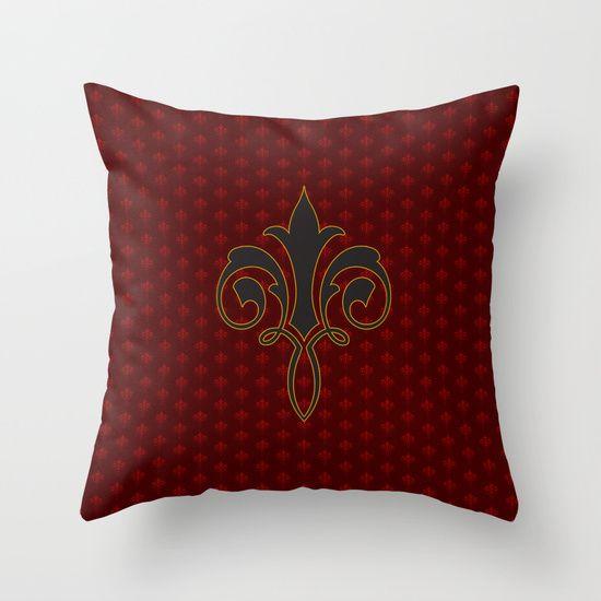 Vintage Pattern 1 pillow
