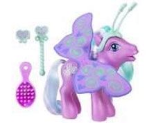 My Little Pony - Wing Wishes Pony - Toola-Roola  With a pair of beautiful wings and a ``magic`` wand  Toola-Roola can pretend to be a butterfly and  http://www.comparestoreprices.co.uk/childrens-gifts/my-little-pony-wing-wishes-pony-toola-roola.asp