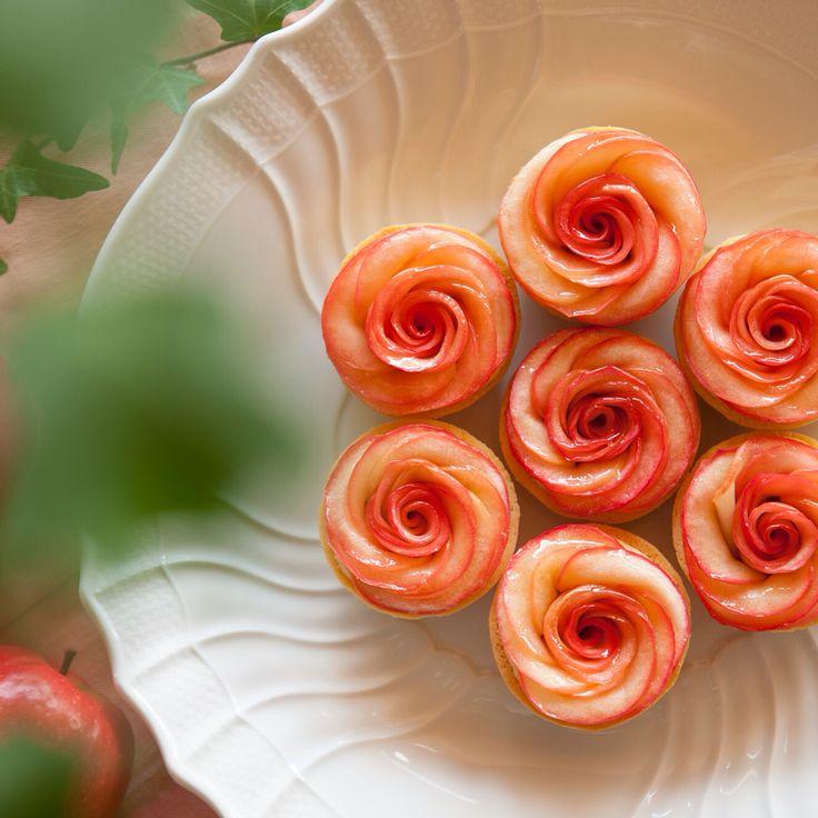 apple&roses tart