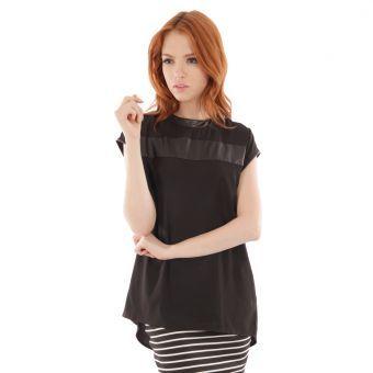 Camiseta Le minuit Candy-Negro #leminuit #summer #liniofashionco #moda #fashion #clothes #black #trends #cool #loveit