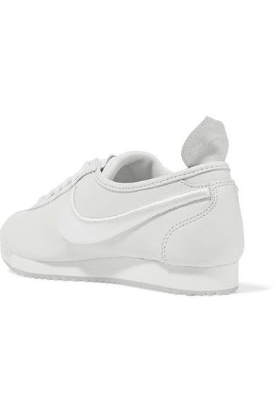 Nike - Cortez 72 Si Embroidered Leather Sneakers - White