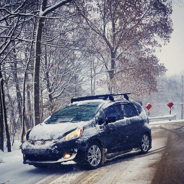 25 best honda fit weather images on pinterest honda fit for Honda fit in snow