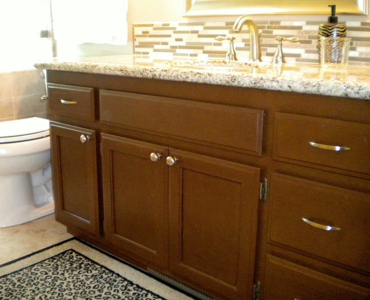 14 best images about rust oleum on pinterest for Almond colored kitchen cabinets