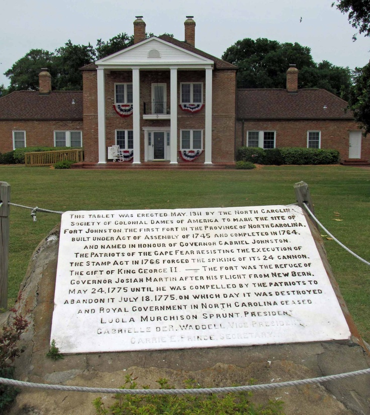 Located overlooking the Cape Fear River on the banks of Southport, Fort Johnston was originally built by the British in 1748 to protect the region from Spanish and French attack.