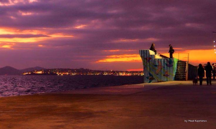 Sunset @ Paleo Faliro, Greece