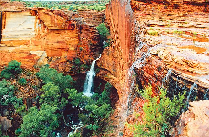 Kings Canyon, Central Australia. Just spectacular! We walked the rim and down into the canyon to swim.