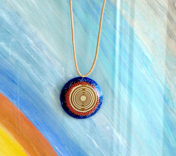 Orgone orgonite® all-powerful pendant with 2 by OrgoniteCreations