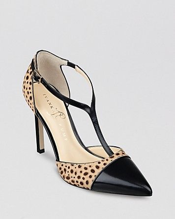 IVANKA TRUMP Pointed Toe Pumps - Camela High Heel | Bloomingdale's