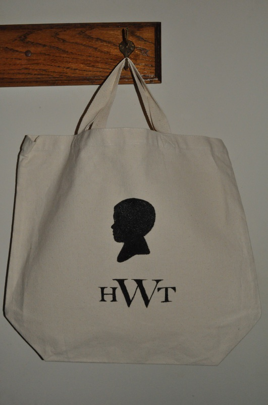 Personalized Canvas Tote from Silhouette Savvy!