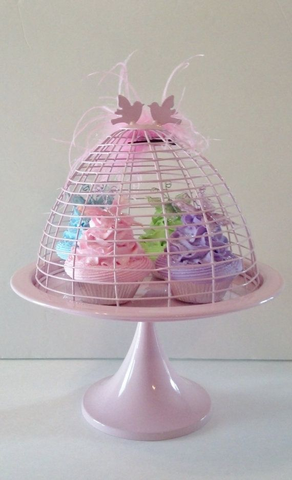 Pastel Butterfly Fake Cupcakes Photo Props by FakeCupcakeCreations, $40.00