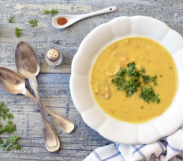 Recept na paleo krémovou kuřecí polévku, která vám dokáže, že připravit zdravé chutné jídlo nemusí být vůbec drahé, a to i v bio kvalitě.