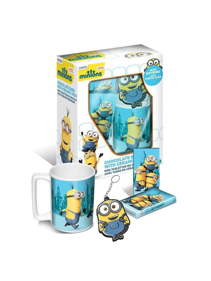 Minions Mug & Chocolate Gift Set | very.co.uk