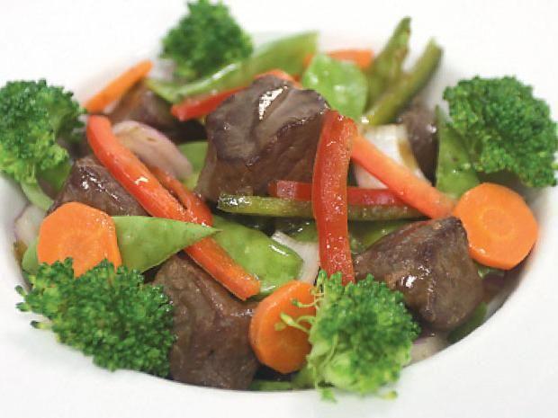 La receta popular: saltado de res y verduras