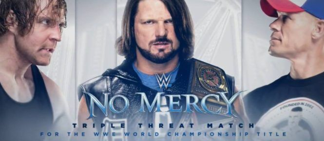 WWE No Mercy Winners List, Match Card, Result 9th October 2016 at California. WWE PPV NoMercy Main Event 2016 Winners Name List, Fight Match Card 10th Oct.