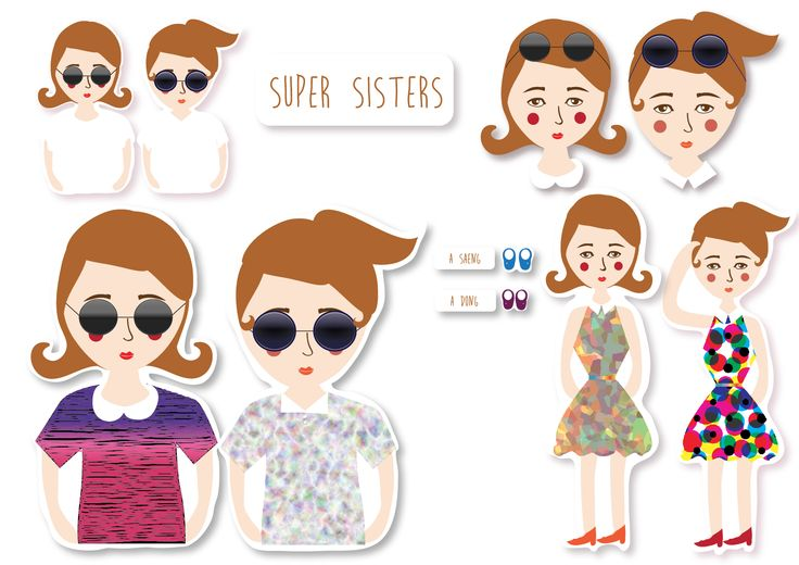 FINAL VERSION OF SUPER SISTERS!