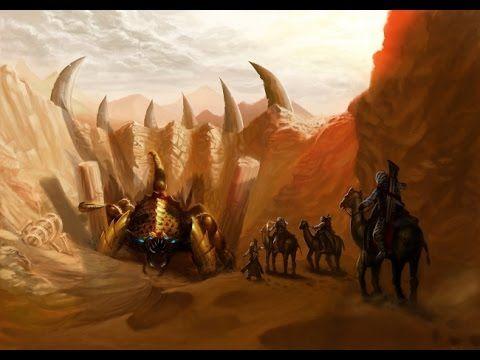 Битва в пустыне ужасы, фантастика, триллер