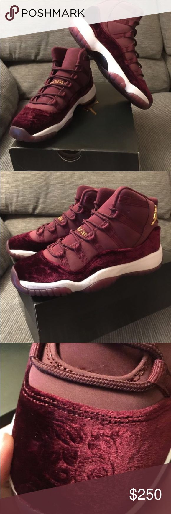 Nike Air Jordan 11 XI Retro Velvet Heiress Maroon Brand New Offers Welcome Send number If you want to buy Jordan Shoes Sneakers