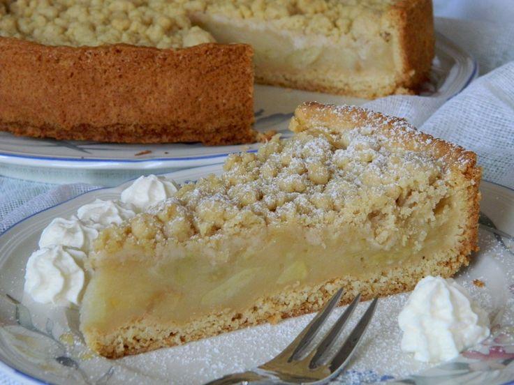 Apfelmus - Vanillepudding - Kuchen, ein schönes Rezept aus der Kategorie Frucht. Bewertungen: 121. Durchschnitt: Ø 4,5.