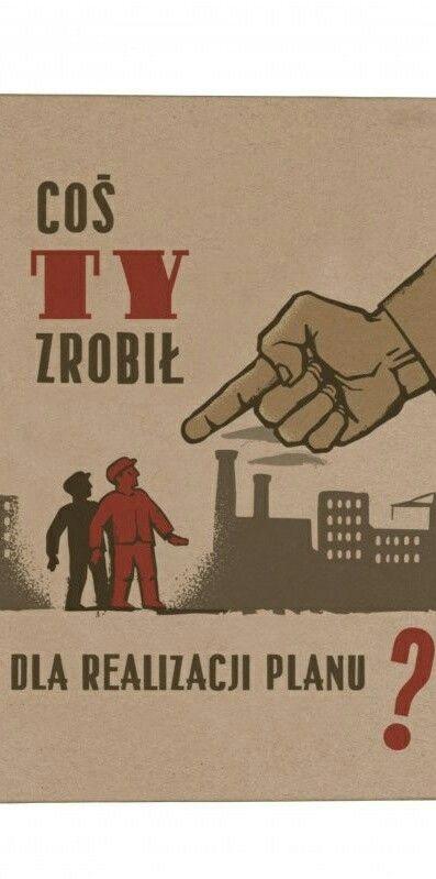 COŚ TY ZROBIŁ DLA REALIZACJI PLANU? #polska#prl#humor#spodlady