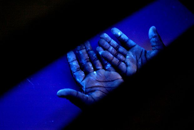 Picture of Teach a Glo Germ Lesson for Improved Hand Washing in your Classroom or Organization *Intro for Ebola prevention