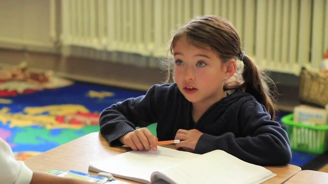 2nd Grade Student in Spanish Dual Language Immersion Program by Go Public. Abby Griffith and her twin are 2nd graders in San Rafael Elementary School's Dual Language Spanish Immersion Program.  She is learning how to read and write (and sing) in two languages.