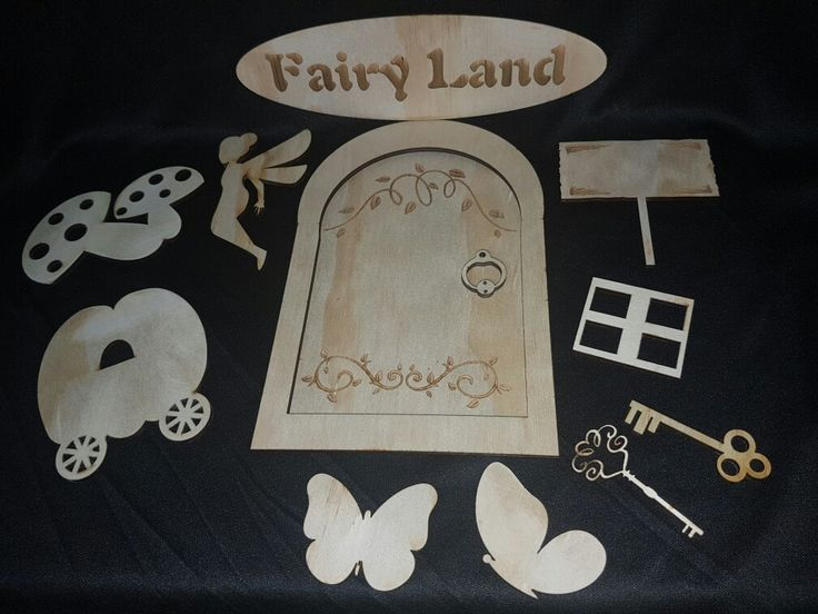 Fairy Garden Kit made from plywood