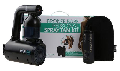 MineTan Bronze Babe Personal Spray Tan Kit