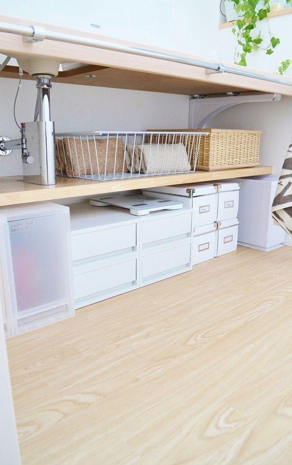 * 洗面室の収納 見直し 無印良品週間 * | めがねとかもめと北欧暮らし