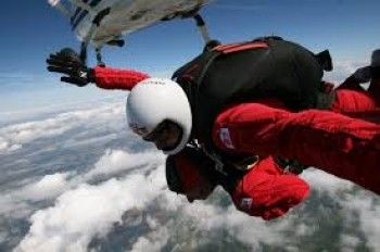 Slough estate agent charity skydive! | The Frost Partnership