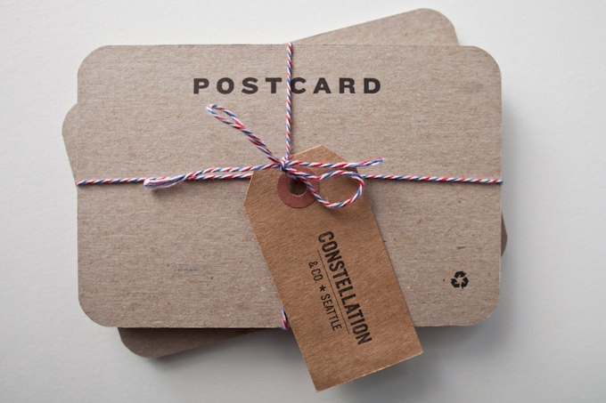 *+ Blank letterpress postcards