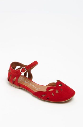 An updated version of the Kung Fu mary janes I was addicted to in high school!   Jeffrey Campbell 'Cinda' Flat   Nordstrom