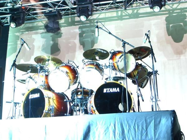 Dave Lombardo's drum kit | Drums | Pinterest | Drum kit ...