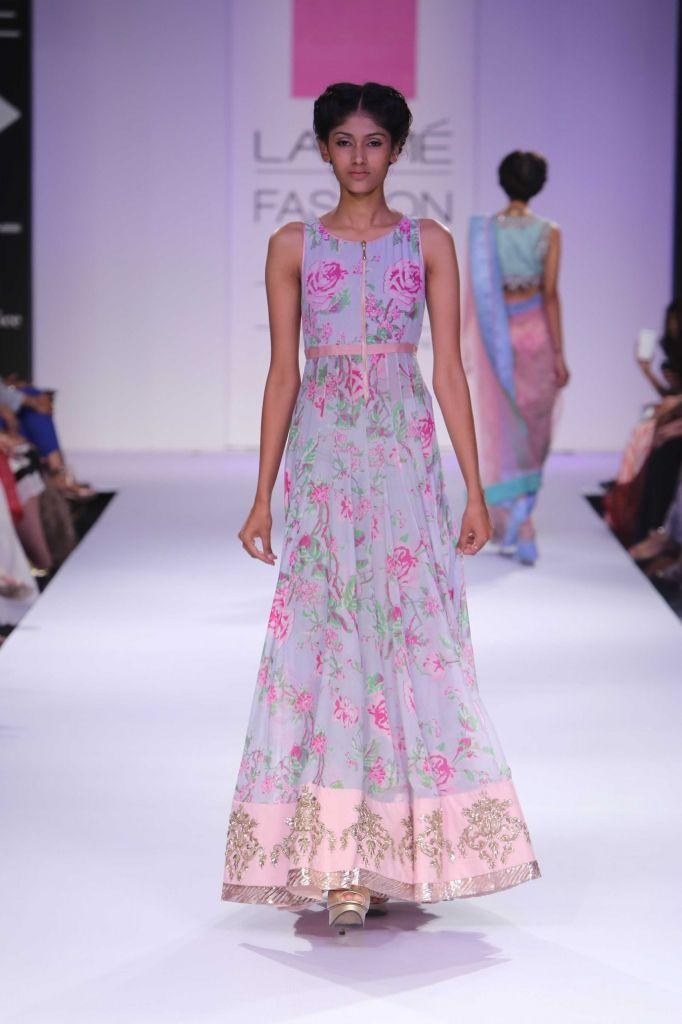 Lakmé Fashion Week – Anushree Reddy at LFW WF 2014