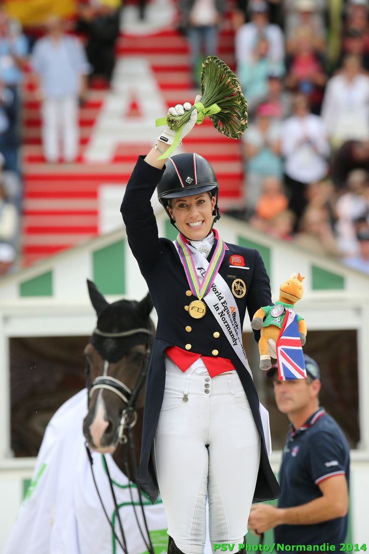 Dressage - Charlotte DUJARDIN - Gold medalist - August 29th - Copyright : PSV Photo