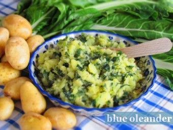 Croatian chard potatoes