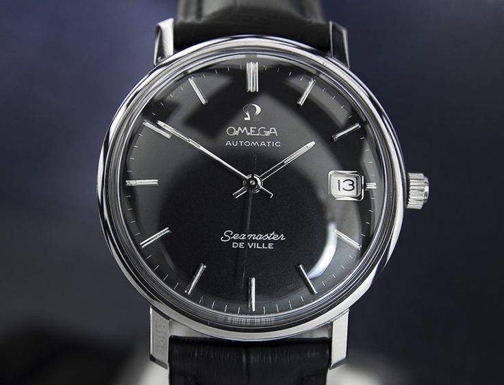 RARE Collector Vintage Mens 1960's Omega Seamaster DeVille Automatic A725 | eBay