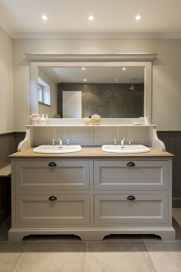 landelijk badkamermeubel - Taps & Baths