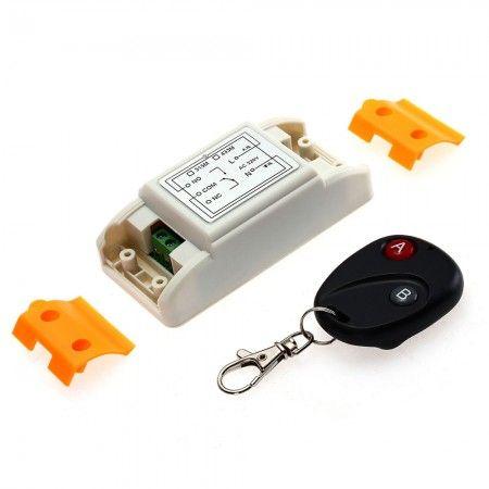 Module Contrôleur Interrupteur à Distance Télécommande Sans Fil Récepteur AC220V