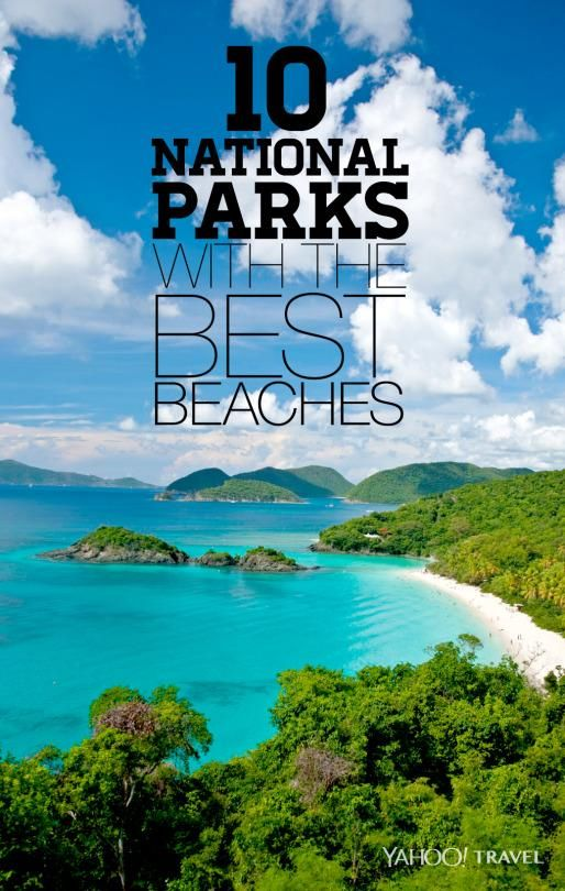 10 National Parks With The Best Beaches