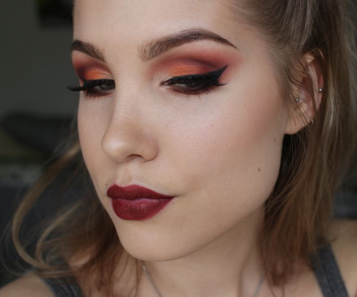 Anni Ice: Today's make-up - NYX Full Throttle recreation