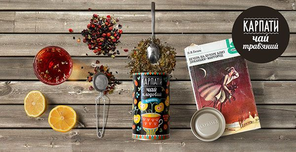 Tea Package Design in National Traditional Style on Behance