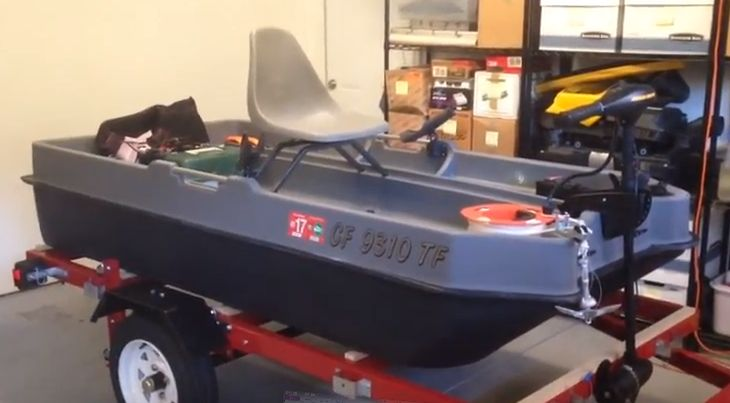 Mini bass boat set up idea 2 small boat fishing for Fish finder for jon boat