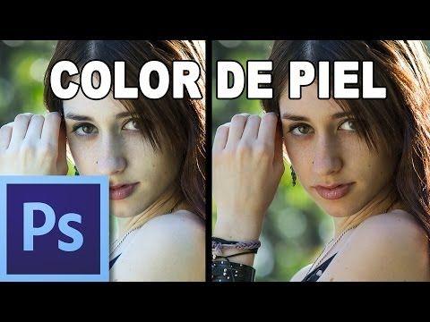 ▶ Ajustar color de piel - Tutorial Photoshop en Español por @Prisma Tutoriales (HD) - YouTube