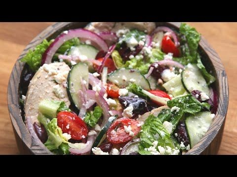 Eat Healthy With This Delicious Mediterranean Salad